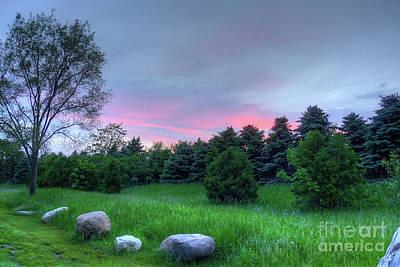 Photograph - Stone's Throw Sunset by Deborah Smolinske