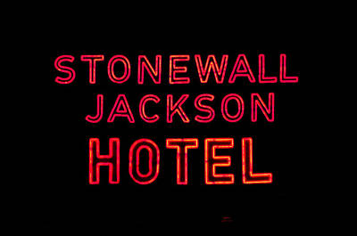 Photograph - Stonewall Jackson Hotel by Cathy Shiflett