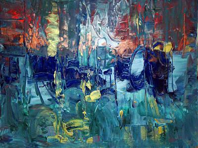 Painting - Stonewashed Blue by Davina Nicholas