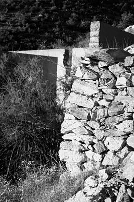 Photograph - Stonework by Dick Botkin