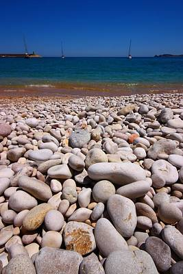 Search Photograph - Stoney Beach by FireFlux Studios