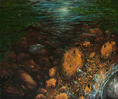 Stoney Creek Memory Art Print by Jason Sawtelle