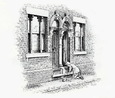 Stoning Steps Middleport Print by Anthony Forster