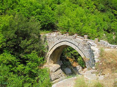 Photograph - Stony Bridge by Alexandros Daskalakis