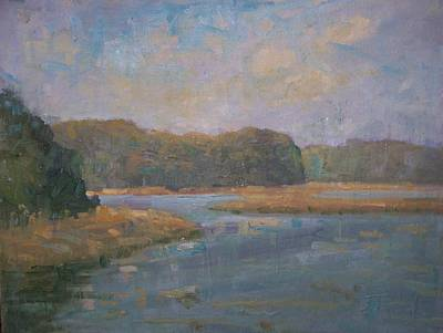 Painting - Stony Brook by Bart DeCeglie