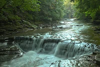 Photograph - Stony Brook New York Gorge by Adam Jewell