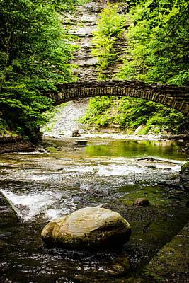 Finger Lakes Photograph - Stony Brook State Park by Sara Frank