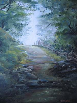 Painting - Stony Path by Sharon Sorrels