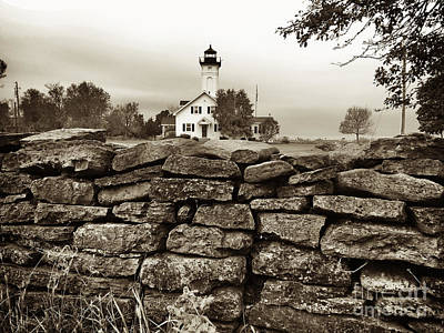 Stony Point Lighthouse Art Print