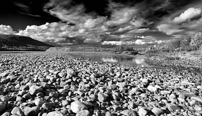 Typography Tees - Stony River Valley by Pekka Sammallahti
