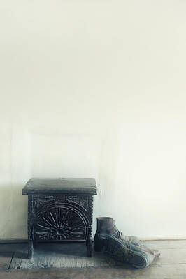 Indoor Photograph - Stool And Shoes by Joana Kruse