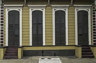 Photograph - Stoops Doors And Windows In New Orleans Neighborhood by Willie Harper