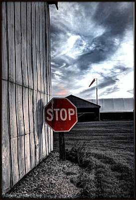Photograph - Stop by Michaela Preston