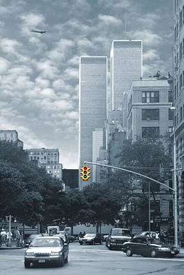 Twin Towers Photograph - Stop by Mike McGlothlen