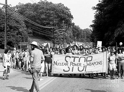 Photograph - Stop Nuclear Power 1979 by Ed Weidman