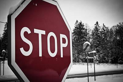 Stop Print by Robert Hellstrom