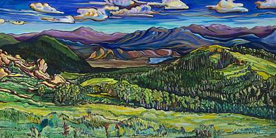 Painting - Stopping For The View by Alexandria Winslow