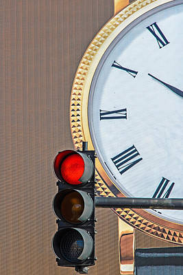 Stopping Time Art Print