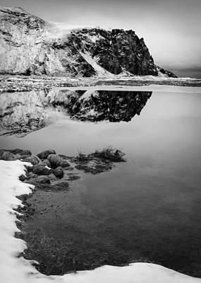 Stora Dimon Reflection Art Print