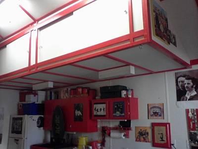 Storage Loft In Studio Art Print