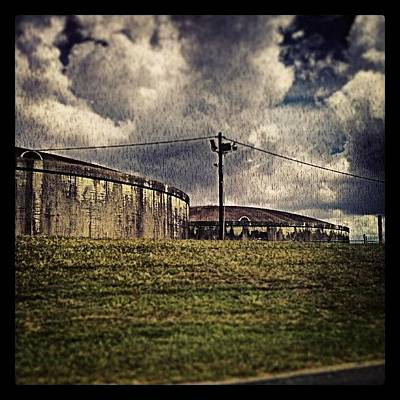 New Orleans Photograph - Storage Tanks New Orleans by Glen Abbott