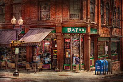 Store - Albany Ny -  The Bayou Art Print by Mike Savad