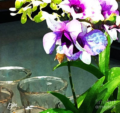 Art Print featuring the photograph Store Bought Flowers by Phil Mancuso