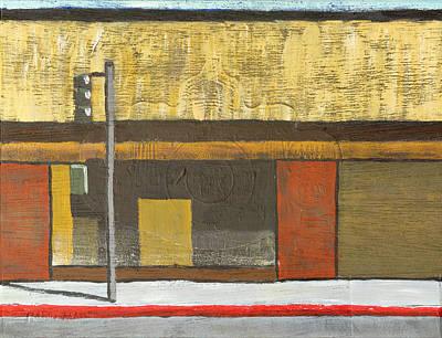 Michael Ward Painting - Store Closing by Michael Ward