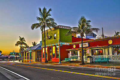 Store On Fort Myers Beach Florida Art Print by Timothy Lowry