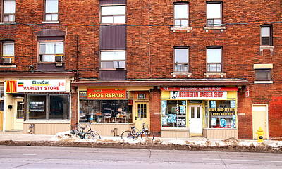 Shoe Repair Photograph - Stores On Ossington by Valentino Visentini