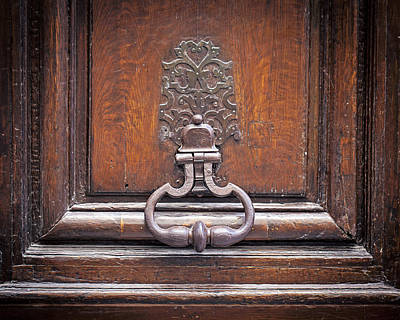Photograph - Storied - Door In Paris France by Melanie Alexandra Price