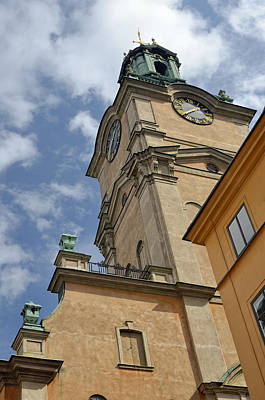 Photograph - Storkyrkan Cathedral I by Marianne Campolongo