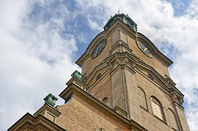 Photograph - Storkyrkan Cathedral II by Marianne Campolongo