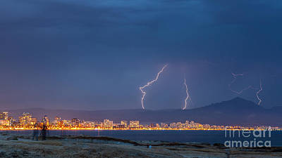 Photograph - Storm 3 by Eugenio Moya