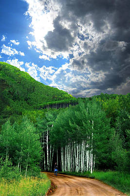 Photograph - Storm Above Pennock Pass Colorado by Ric Soulen