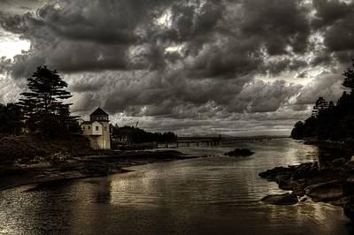 Storm Approaching Art Print by Greg DeBeck