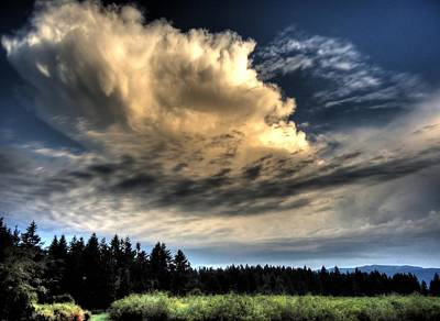 Photograph - Storm Approaching by Peter Mooyman