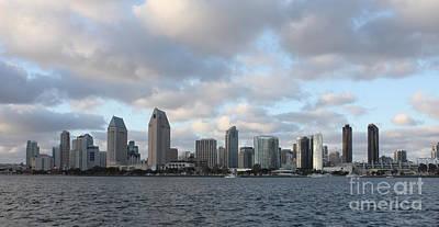 Photograph - Storm Approaching San Diego  by John Telfer