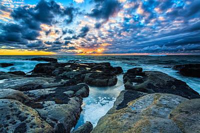 Rocky Coast Photograph - Storm Arrival by Robert Bynum