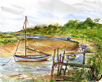 Storm At Bay Art Print by William Rowsell