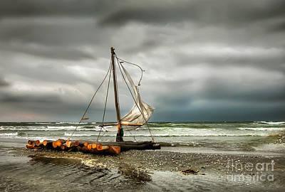 Photograph - Storm At Black Sea Coast by Daliana Pacuraru