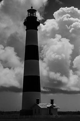 Storm At Bodie Light Art Print