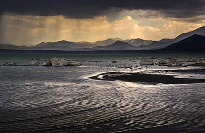 Storm At Mono Lake Art Print by Joe Doherty