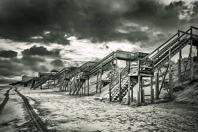 Photograph - Storm At Obx by Mary Almond