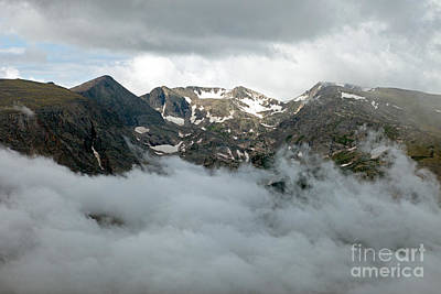 Photograph - Storm At Rock Cut In Rocky Mountain National Park by Fred Stearns
