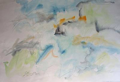 Painting - Storm At Sea by Esther Newman-Cohen