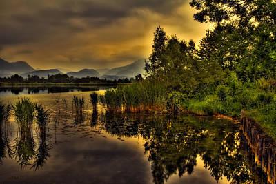 Photograph - Storm At Sunset by Roberto Pagani