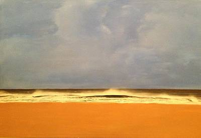 Painting - Storm At Venice Beach by Mark  Leavitt