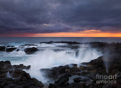 Cauldron Photograph - Storm Boil by Mike Dawson