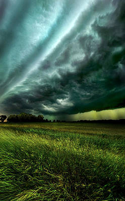 Winter Storm Photograph - Storm Bound by Phil Koch